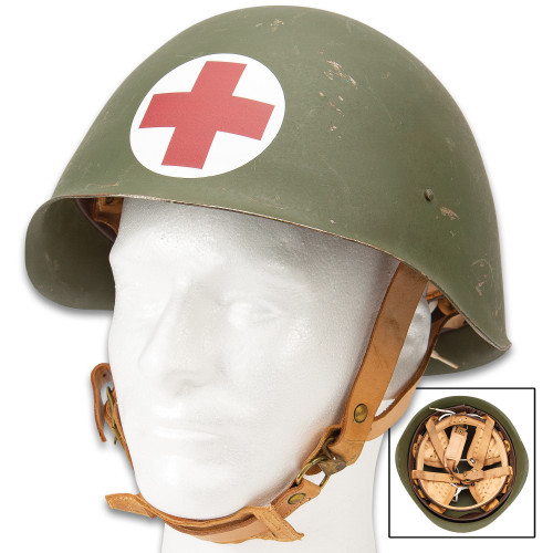 World War II Medic Helmet
