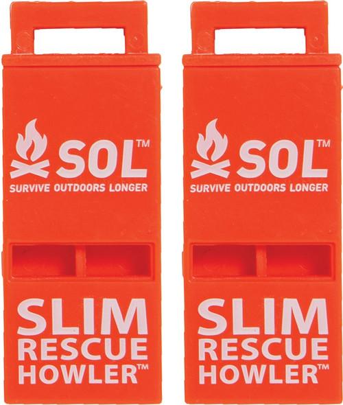Slim Rescue Howler Whistle