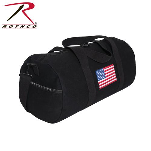 Rothco Distressed U.S. Flag Canvas Messenger Bag