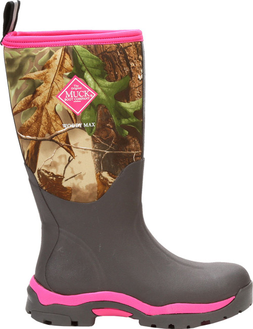Muck Boots Woody Max Pink  AS-IS