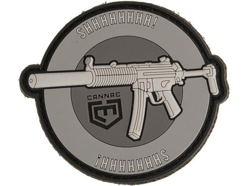 "Cannae ""MP5SD SHHHHHHHH!"" PVC Morale Patch"