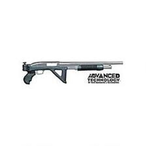 Advanced Technology Side Folding Pistol Grip Stock with Forend Mossberg 500, 590 Synthetic Black