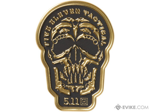 """5.11 """"Dome Piece"""" Embossed Silicone Morale Patch"""