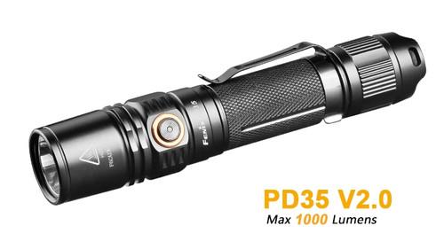 Fenix PD35 V2.0 Flashlight - 1000 Lumens