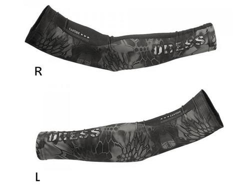DRESS Cool Arm Covers (Color: Black / L-XL)