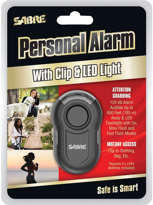Personal Alarm Black