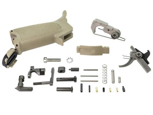 BCM Gunfighter ELPK Enhanced Lower Parts Kit for AR-15 Rifles (Color: Flat Dark Earth)