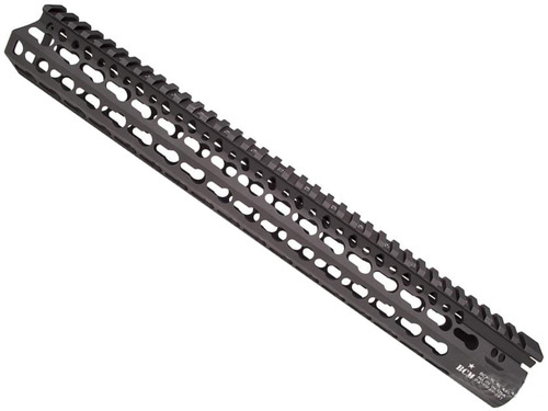 "BCM GUNFIGHTER KMR Alpha KeyMod Modular Rail for AR15 Rifles (Length: 15"" / Black)"