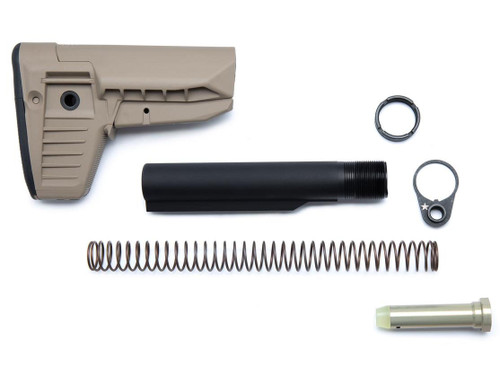 BCM GUNFIGHTER Mod 1 SOPMOD Stock Kit (Color: Flat Dark Earth)
