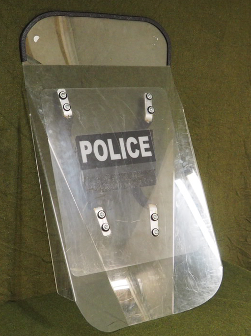 Police Riot Shield - Floor Model