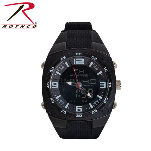 Rothco XLarge Military Style Analog & Digital Display Watch