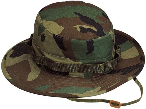 Hero Brand Boonie Hat - Woodland