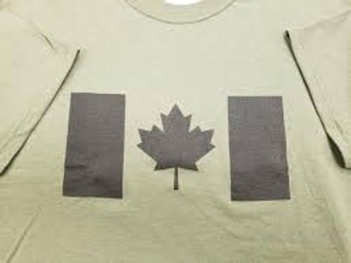 Hero Brand Canadian Flag Long Sleeve Sweatshirt