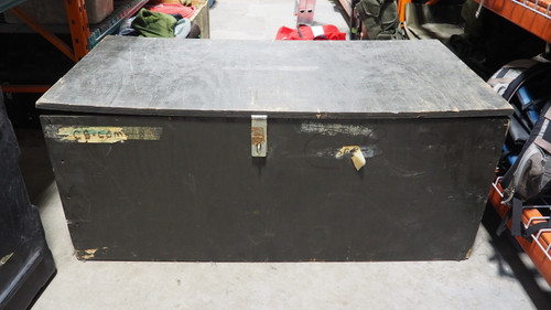 Military Style Foot Locker - Plywood