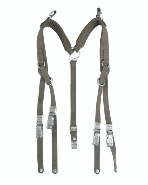 German Armed Forces Old Style Field Suspenders