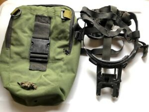 U.S. Armed Forces Skull Crusher or Head Mount for PVS Night Vision w/Bag