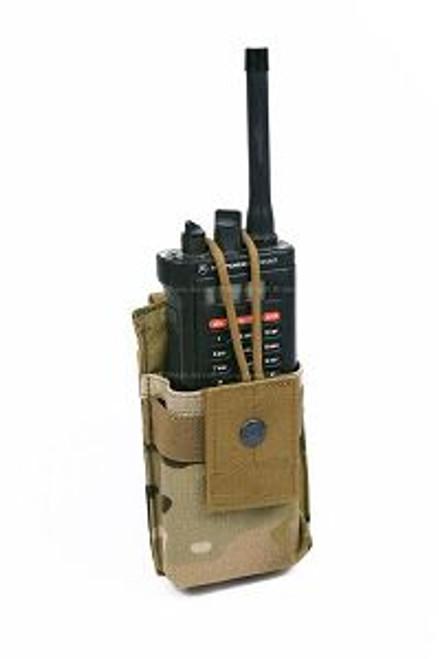 Pantac MOLLE Short Radio Pouch -Multicam