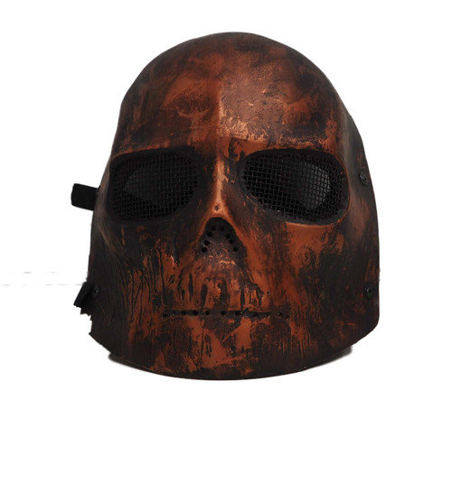 Army Of Two Red Skull  Face Mask
