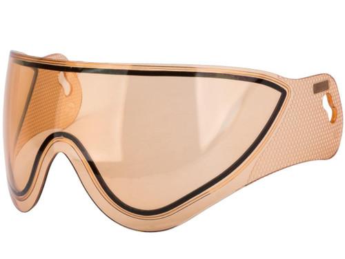 WARQ Dual-Pane Lens for WARQ Helmet Systems (Color: Orange)