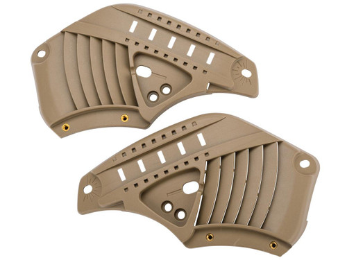 WARQ Replacement Side Ear Cover Pieces (Color: Tan)