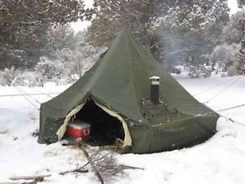 5 Man Canadian Arctic Bell Tent - Used