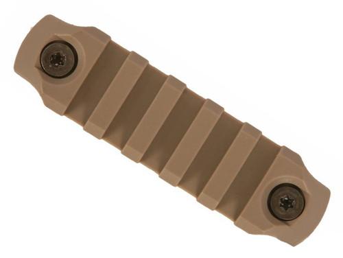 "BCM Nylon Fiber KeyMod Picatinny Rail Adapter (Length: 3"" / Flat Dark Earth)"