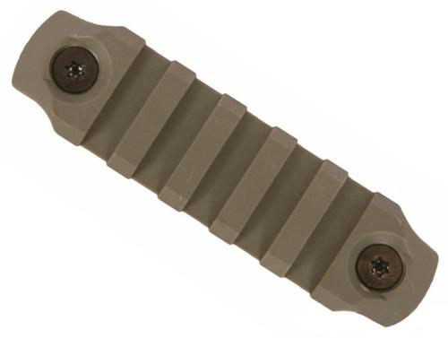 "BCM Nylon Fiber KeyMod Picatinny Rail Adapter (Length: 3"" / Foliage Green)"