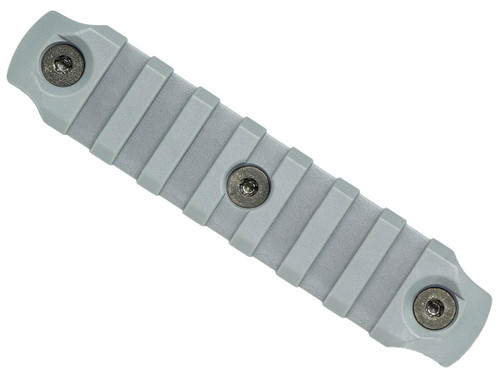 "BCM Nylon Fiber KeyMod Picatinny Rail Adapter (Length: 4"" / Wolf Gray)"