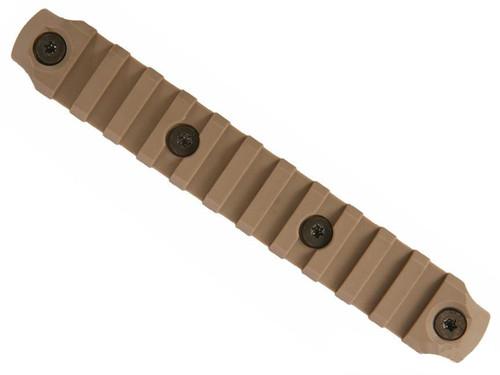 "BCM Nylon Fiber KeyMod Picatinny Rail Adapter (Length: 5.5"" / Flat Dark Earth)"