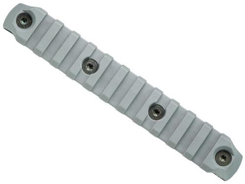"BCM Nylon Fiber KeyMod Picatinny Rail Adapter (Length: 5.5"" / Wolf Gray)"