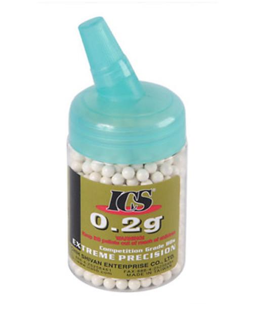 ICS MC-22A 0.2g BB Pellet 1000pcs/bottle