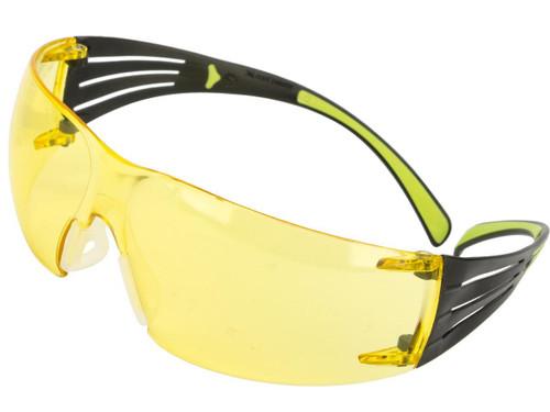 3M Peltor SecureFit 400 Anti-Fog Lightweight Safety Glasses - Amber