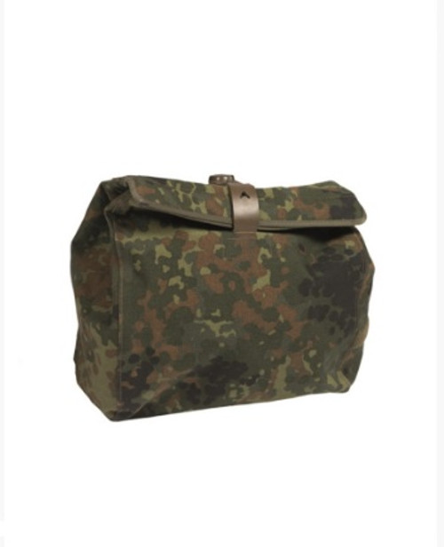 German Armed Forces  Flectar Camo Gas Mask Bag w/Strap