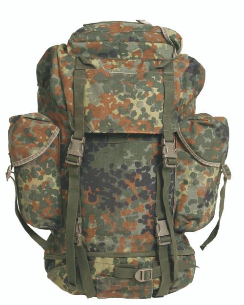 German Armed Forces Flectar Camo Combat Rucksack