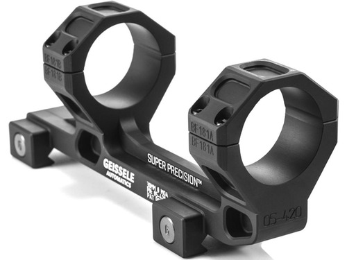 GEISSELE Automatics Super Precision Scope Mount for AR15 / M4 Rifles - Extended 30mm / Black