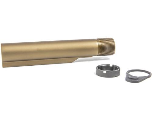 Geissele Automatics Premium 7075-T6 Aluminum Mil-Spec Buffer Tube for M4 / AR15 Rifles - DDC Desert Dirt Color