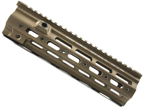 "GEISSELE Automatics Super Modular Rail for H&K 416 / MR556 Rifles - Desert Dirt / 14.5"""
