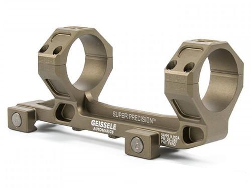 GEISSELE Automatics Super Precision SOPMOD Certified 34mm Mark 6 Scope Mount for SR-25 / AR-10 Rifles - Desert Dirt Color