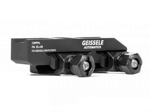Geissele Automatics Super Precision Aimpoint CompM4 Optic Mount - Black