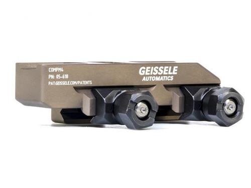 Geissele Automatics Super Precision Aimpoint CompM4 Optic Mount - Desert Dirt Color