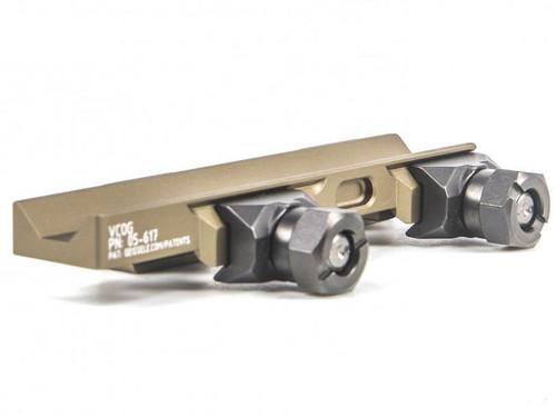 Geissele Automatics Super Precision Trijicon 1-6x24 VCOG Scope Mount - Deset Dirt