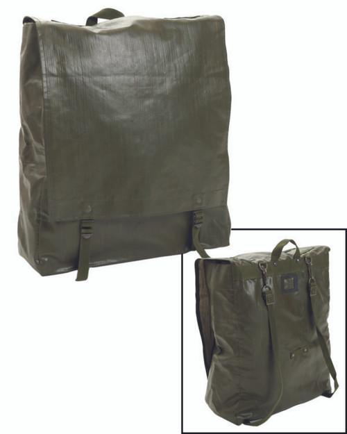 Czech Armed Forces Olive Drab M85 Vinyl Rucksack