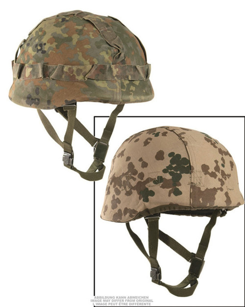 German Armed Forces  Flectar/Tropical Camo Reversible Helmet Cover