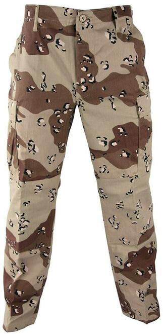 U.S. Armed Forces 6 Colour Desert Pants
