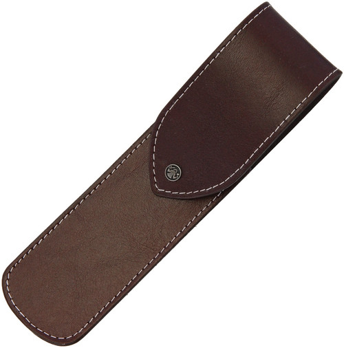 Brown Straight Razor Pouch