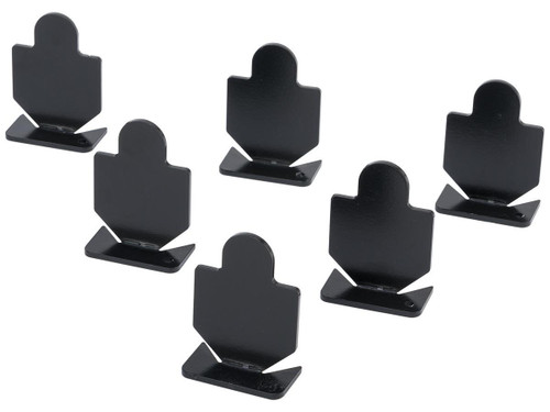 Big Bang Steel Target for Airguns - Small Silhouette Popper 6-Pack