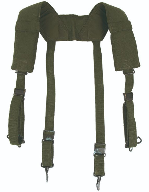 Belgium Armed Forces M56 Cotton Field Suspenders