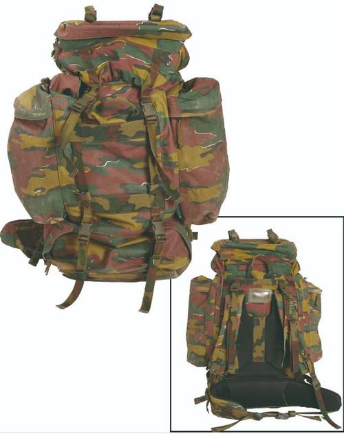 Belgium Armed Forces M97 Camo Rucksack