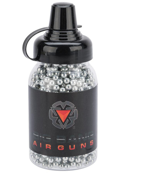 Big Bang Airgun 4.5mm / .177 cal Steel BB - Bottle - Zinc Plated / 1500rd