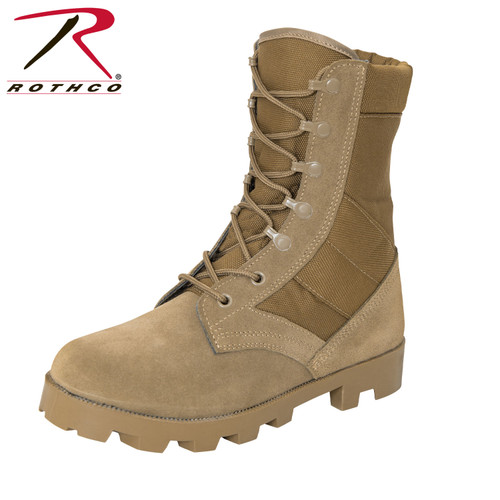 Rothco G.I. Type Speedlace Jungle Boot - AR 670-1 Coyote Brown